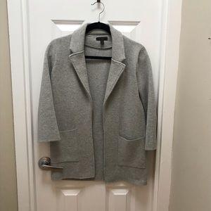 J Crew Grey Sweater Jacket Size XXS